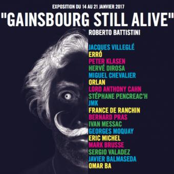 GAINSBOURG STILL ALIVE / 14-21 JANVIER 2017 / Cornette de Saint-Cyr, Paris