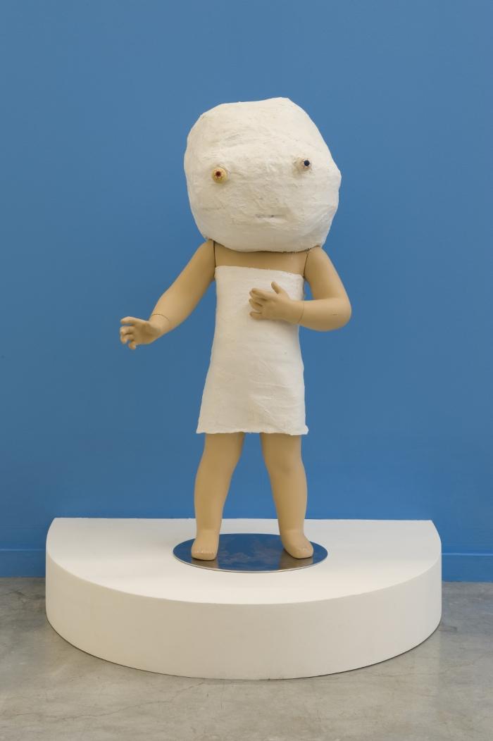 Mannys, plâtre, résine, 2011, Drop Fine Art, © Photo : Marc Domage, Neil Farber