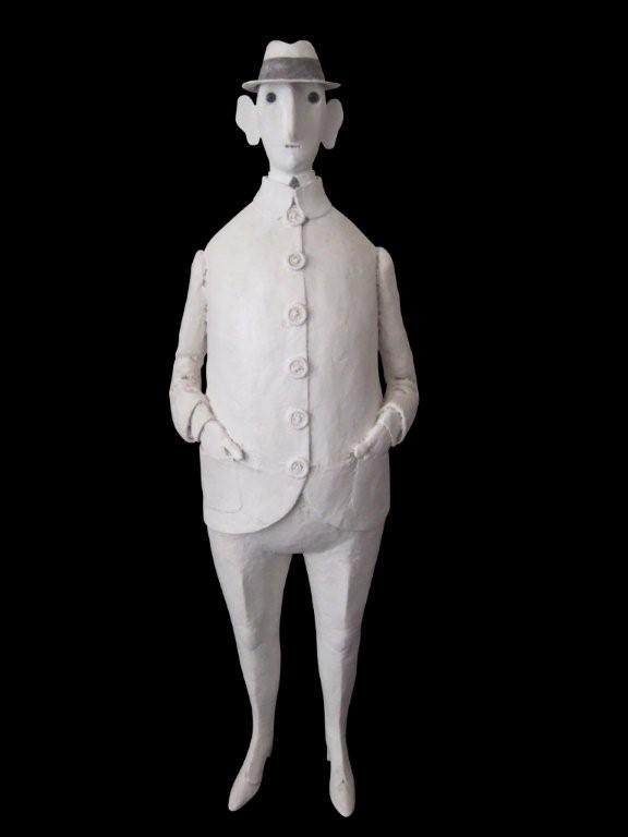 Ça va (2006), résine, 65 cm (hauteur)