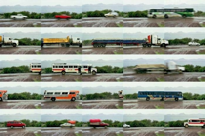 Carretera1, 2003,jet d'encre sur papier fine art,80x120cm, 5ex