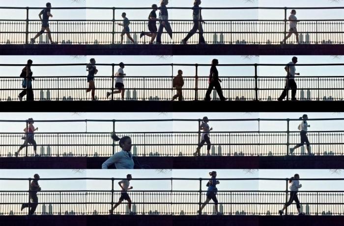 Central park, 2005,jet d'encre sur pap fine art,80x120, 5ex, 40x60cm,10ex