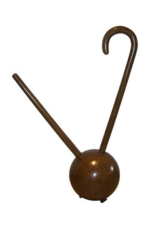 Hervé Télémaque, Le Désert (1968-2005), bronze. h 100 cm, diamètre 25 cm. 8 exemplaires