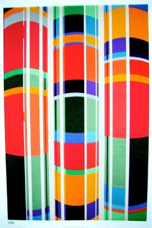 Trois tubes, 1973, huile sur toile, 130 x 195 cm,Guy De Rougemont