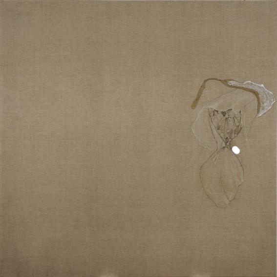 acrylique sur toile de lin, 2x2 m, 2009
