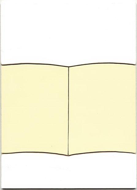 Open book, 2009, Acrylique sur panneau, 28 x 35 cm