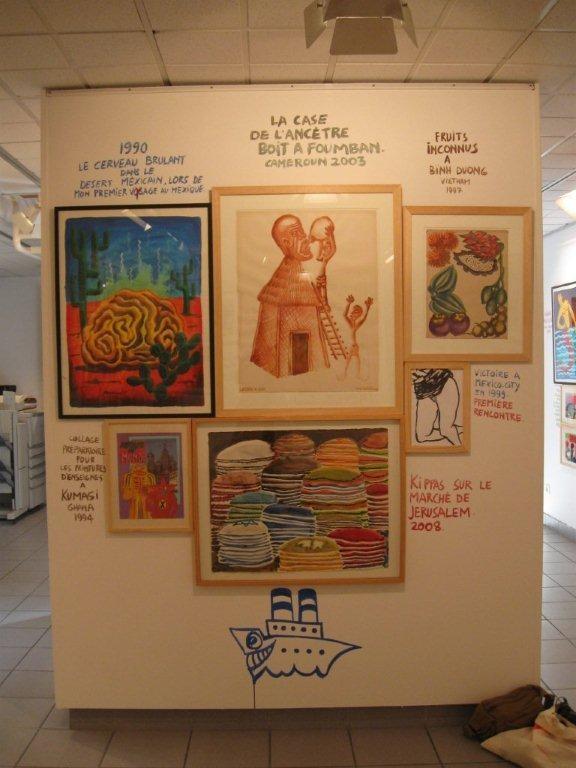 Maison des Arts de Bagneux, 2008, Hervé Di Rosa