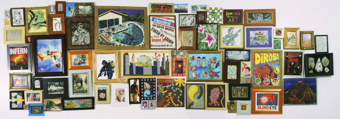 Hervé Di Rosa, Miami 2, installation murale, 200 x 400 cm