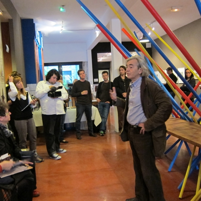 """Hervé Di Rosa, commissaire d'exposition """"My Winnipeg"""", MIAM (Sète)"""