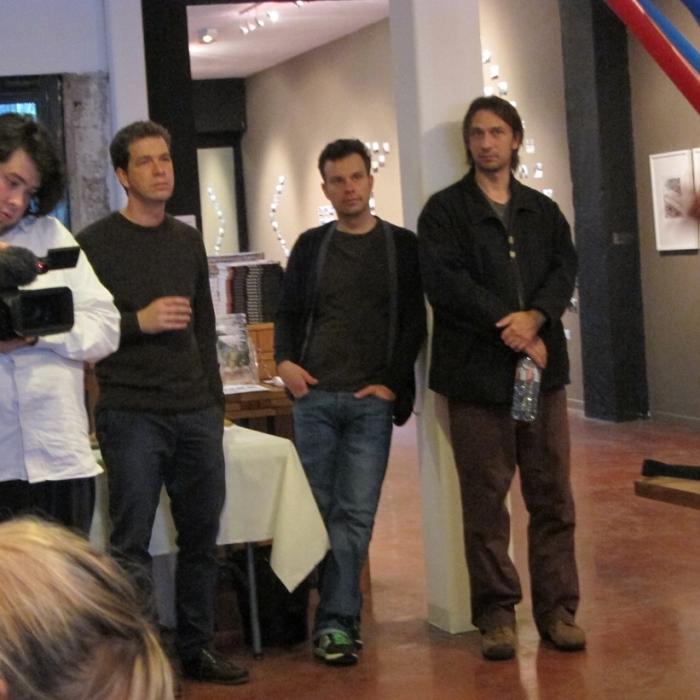 "Michael Dumontier, Simon Hughes, Neil Farber, ""My Winnipeg"", MIAM (Sète)"