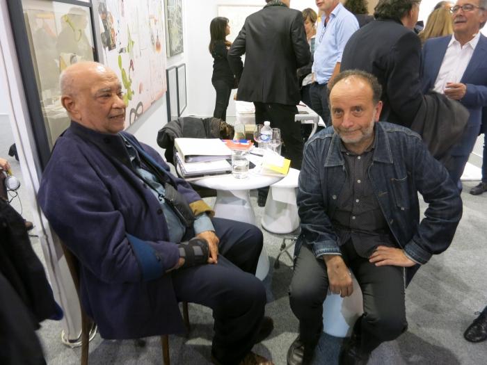 Hervé Télémaque et Curro Gonzalez