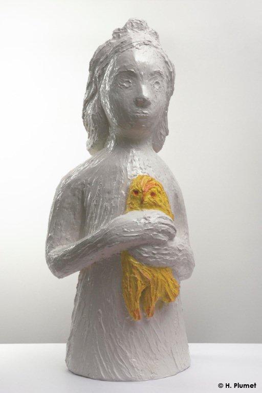 Princesse, 2009, Résine, 94 x 30 cm, Françoise Pétrovitch