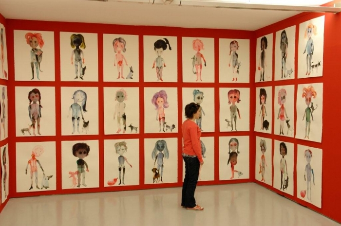 Musée D'Art Moderne de Saint Etienne, 2008, Françoise Pétrovitch