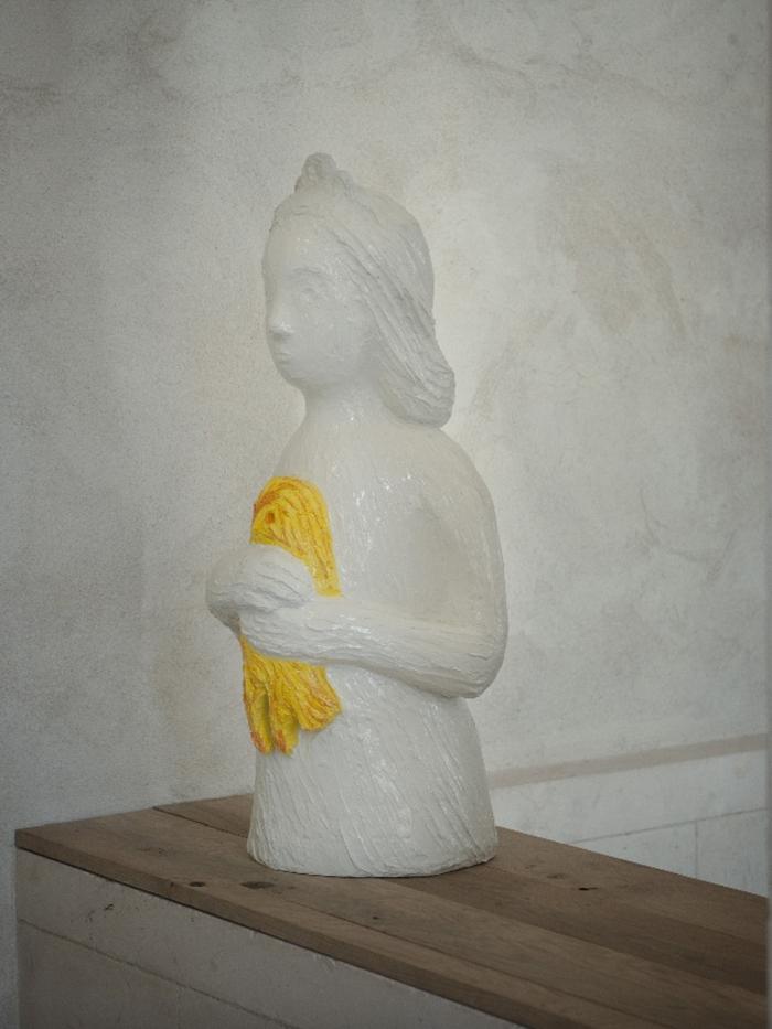 Princesse, 2009, Résine, 94 x 30 cm , Exposition au Musée De La Chasse (2011), Françoise Pétrovitch