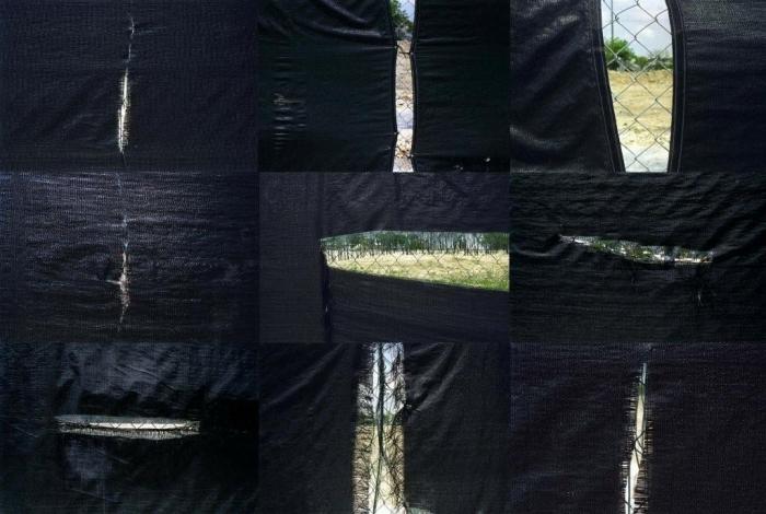 Black tarpaulin, 2006, jet d'encre sur pap fine art,80x120, 5ex, 40x60,10ex