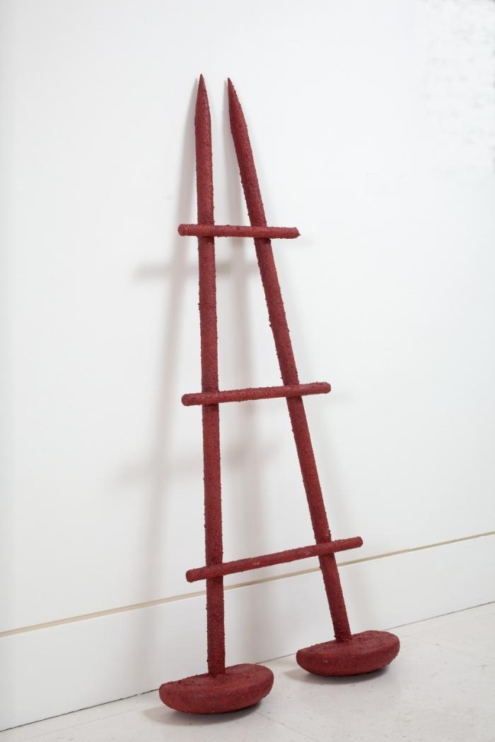 Le Temps Passe, 1969-2011, acrylique sur bois, sculpture originale, sur 8 exemplaires, Hervé Télémaque