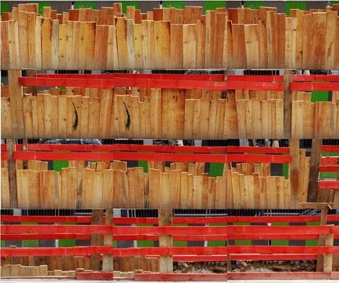Wood, 2009, jet d'encre sur papier Hahnemuhle, 1x1 m, 5ex