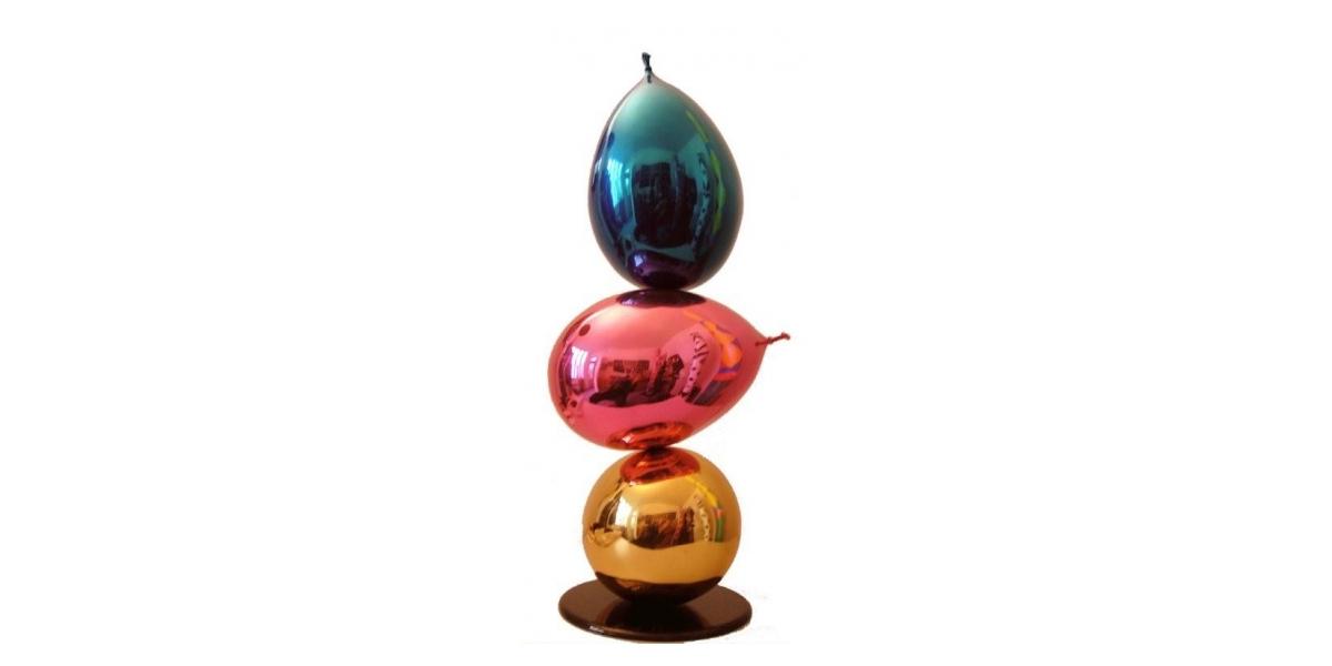 Philippe Berry Les Trois beaux Ballons 68 x 25 x 25 cm
