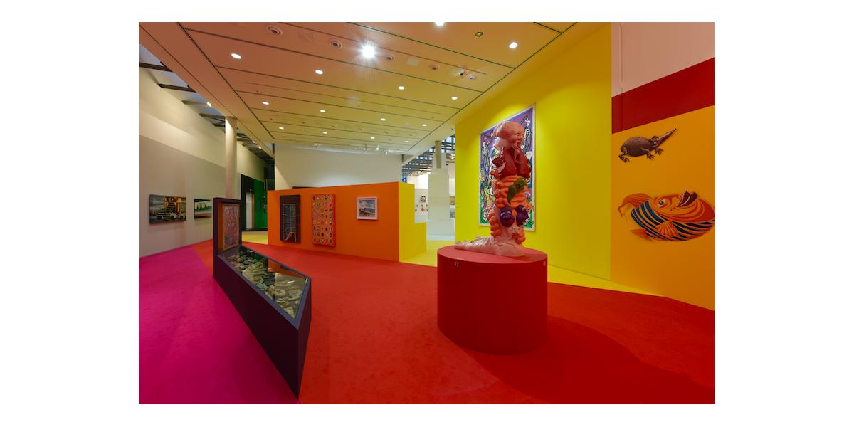 Vue de l'exposition à la Piscine de Roubaix, Octobre 2018