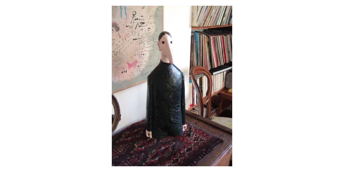 L'Homme de Lise, sculpture en bronze