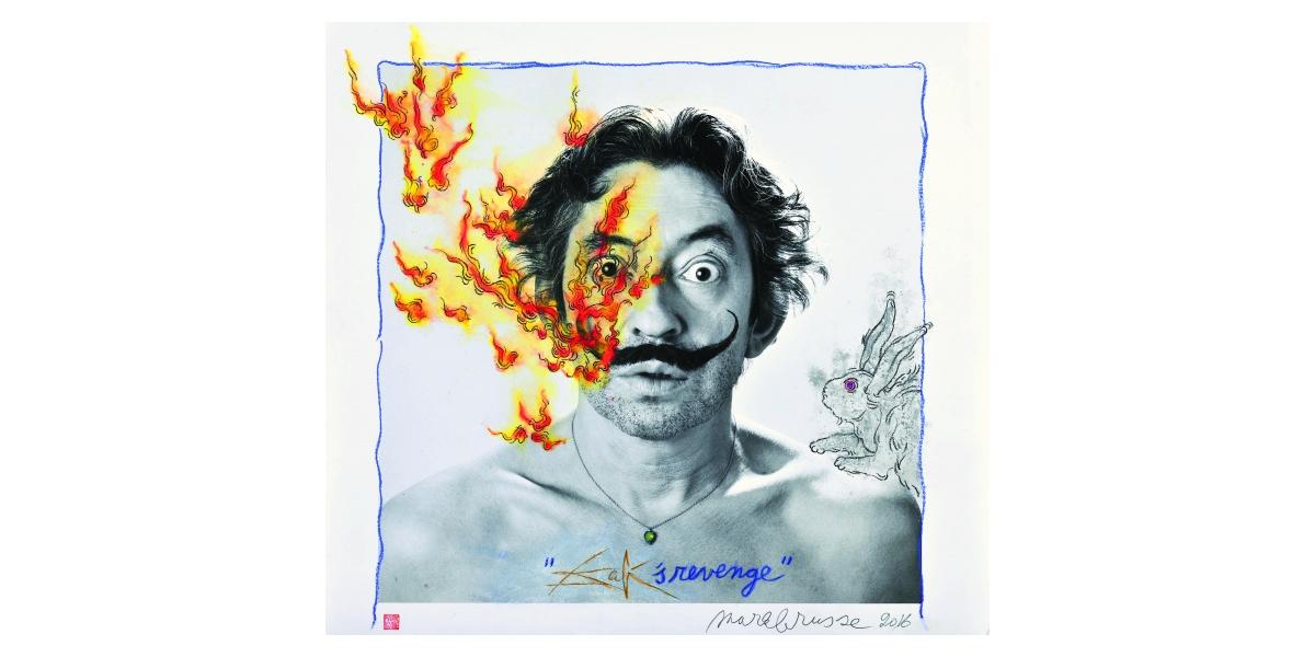 Roberto Battistini - Mark Brusse, Dali's revenge, 2016