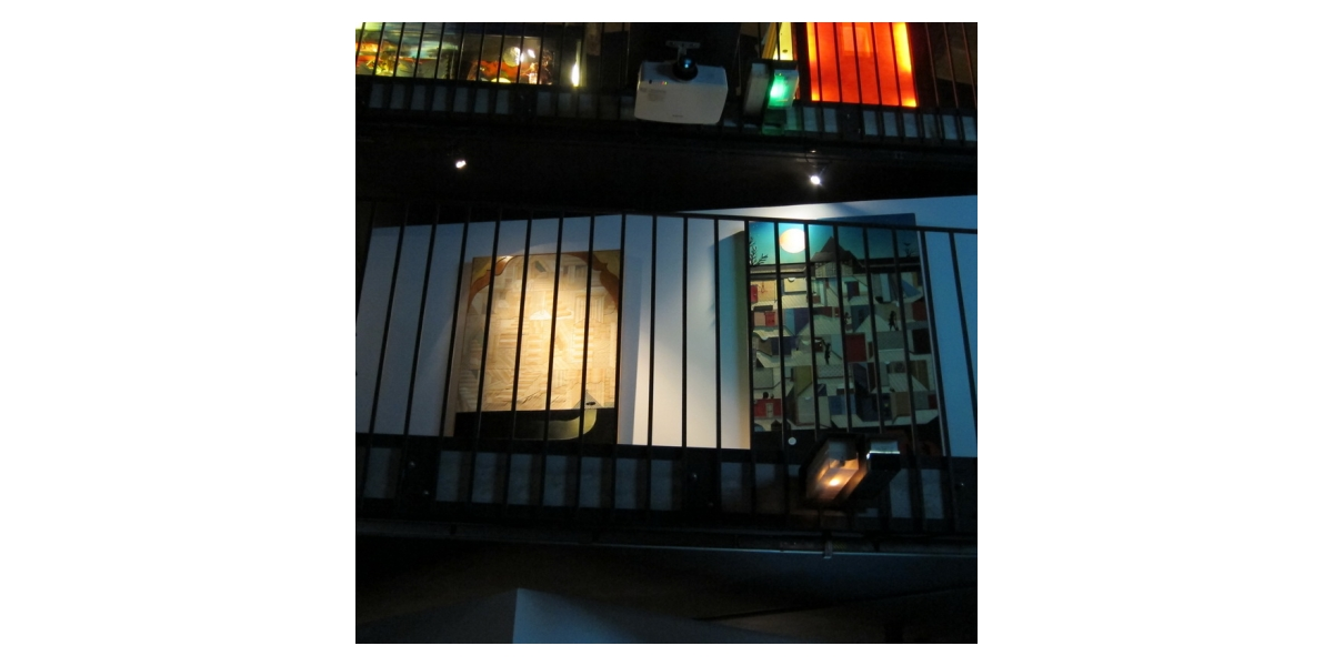 "Oeuvres d'Adrian Williams, Vue d'exposition ""My Winnipeg"", MIAM (Sète)"