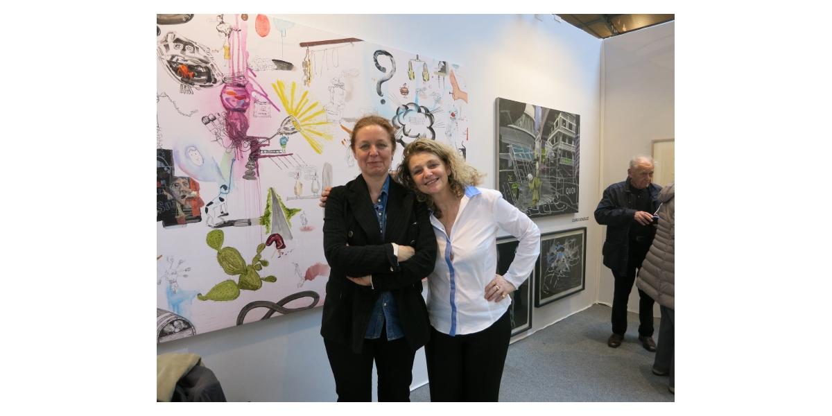 Françoise Petrovitch et Françoise Adamsbaum