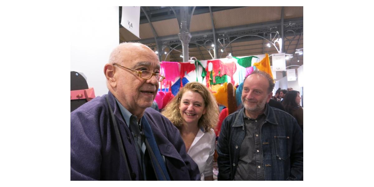 Hervé Télémaque, Curro Gonzalez et Françoise Adamsbaum