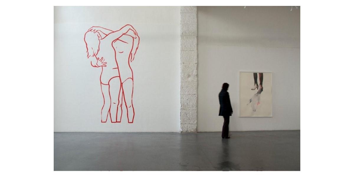 Les lutteuses, Atelier Soardi, Nice, Françoise Pétrovitch
