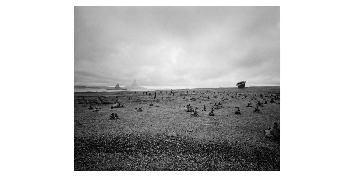Rêve #14, 2013, jet d'encre sur Canson Baryta,  70X100 cm, 6 ex Etienne Buraud