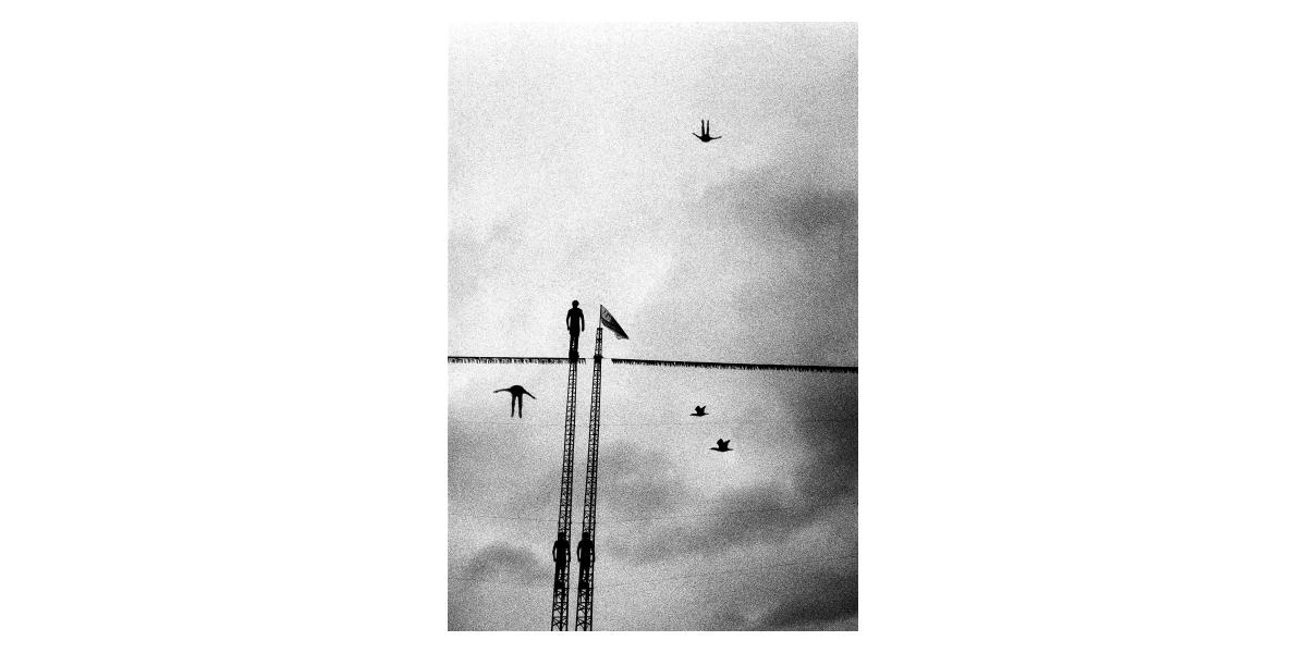 Rêve #2, 2012, jet d'encre sur Canson Baryta,  40X60 cm, 8 ex  Etienne Buraud