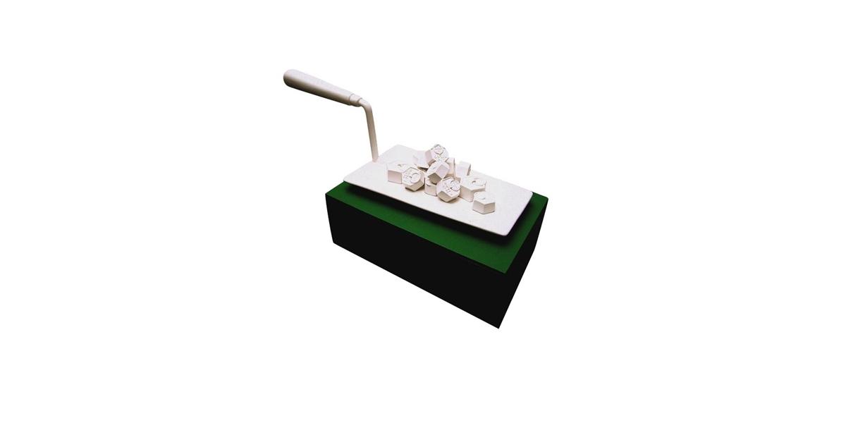 Neige, résine,H 45 cm, l 94 cm, P 36 cm, 2006, 8 ex