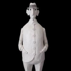 ca va, résine, 2006, 65 cm